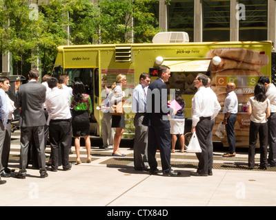 Food Trucks Downtown Nyc