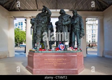 Bomber command memorial - Stock Photo