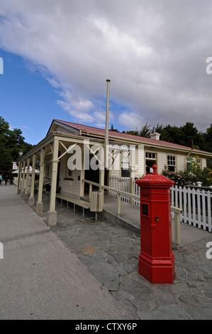 The Post & Telegraph office in Buckingham Street, Arrowtown, Otago,New Zealand - Stock Photo