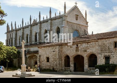 Monastery of the Cartuja de Miraflores, Burgos, Castilla y Leon, Spain, Europe - Stock Photo