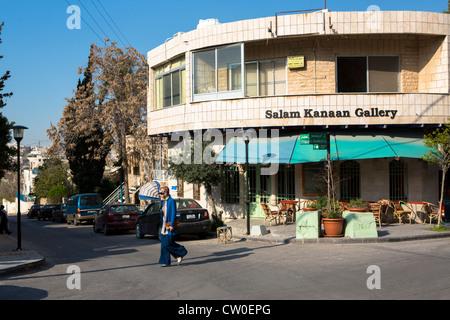 Rainbow street Amman Jordan - Stock Photo