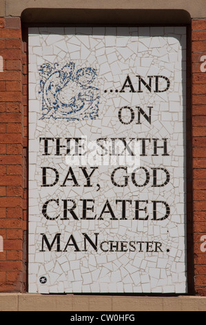 On The Sixth Day Manchester - Stock Photo