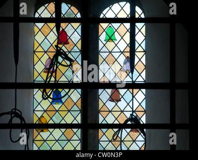 St. Mary Magdalene Church, Helmdon, Northamptonshire, UK - Stock Photo