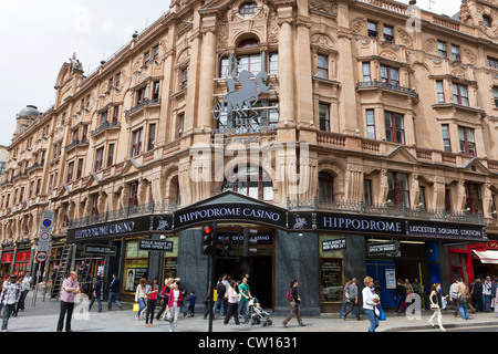 The Hippodrome Casino, Cranbourn Street, Leicester Square, London, England, UK - Stock Photo