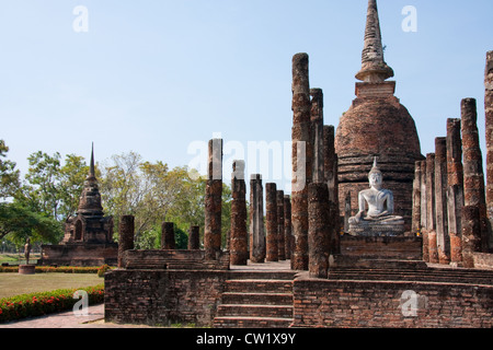 Wat Sra Si temple, Old Sukhothai, North Thailand, Thailand ...