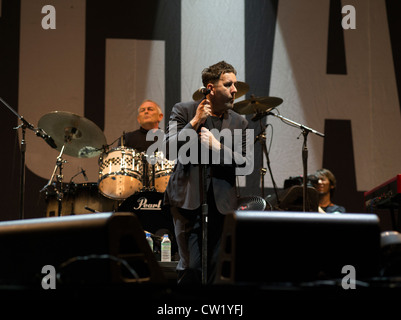 Terry Hall  lead singer of The Specials - Stock Photo