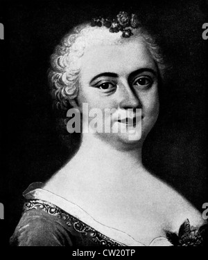 Luise Adelgunde Victorie Gottsched - Stock Photo