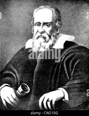 Galileo Galilei - Stock Photo