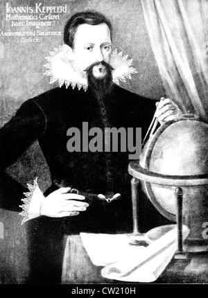 Johannes Kepler, Friedrich Johannes Kepler - Stock Photo