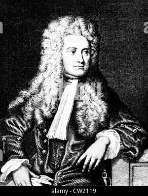Isaak Newton, Sir Isaac Newton - Stock Photo