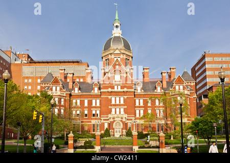 Johns Hopkins Hospital, Baltimore, Maryland - Stock Photo