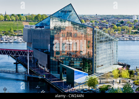 National Aquarium in Baltimore, Maryland - Stock Photo