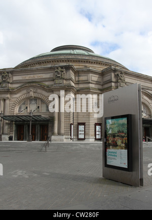 The Usher Hall Edinburgh Scotland  August 2012 - Stock Photo