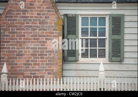 Colonial Williamsburg, VA - Stock Photo