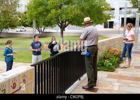 Chidren's Area at the Oklahoma National Memorial & Museum, Oklahoma City, OK, USA - Stock Photo