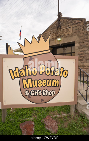 Idaho Potato Museum in Blackfoot, Idaho, USA. - Stock Photo