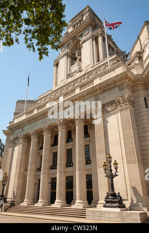 Former Port of London Authority building, 10 Trinity Square, London, England - Stock Photo