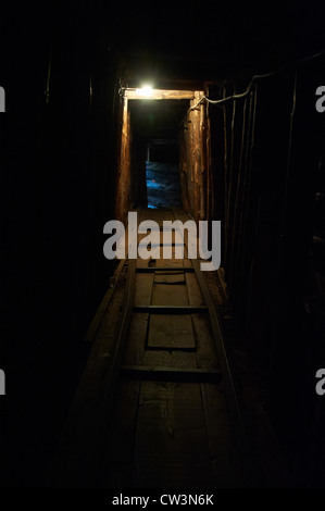 The underground tunnel museum Sarajevo in Bosnia Herzegovina - Stock Photo