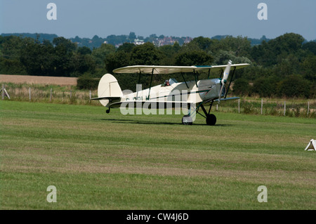 The Stampe Biplane Bi Plane UK - Stock Photo