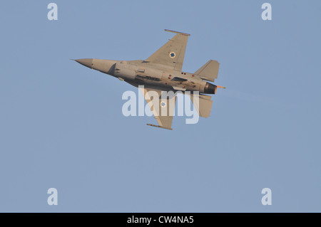 F-16I nicknamed 'Sufa' (Storm) is manufactured by 'Lockheed Martin' - Stock Photo