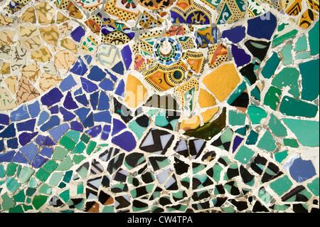 Gaudi Mosaic Glass Bowl