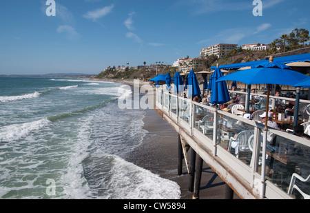 San Clemente, California Fisherman's Oyster Bar, San Clemente, Southern California, USA (March 2012) - Stock Photo