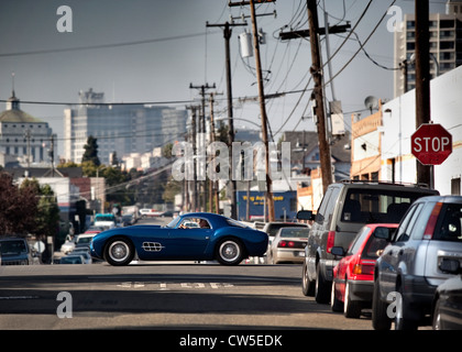 The Gatto by the House of Moal Driving in Oakland California USA - Stock Photo