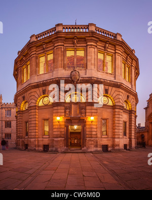 Sheldonian Theatre, Oxford - Stock Photo