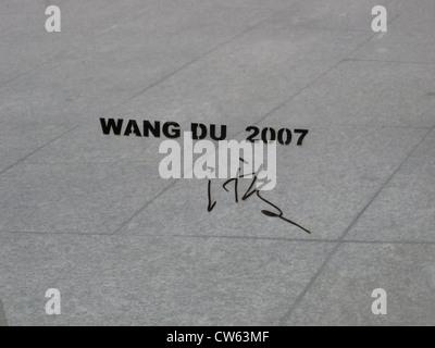 Wang Du, La Tour d'exercice - Stock Photo