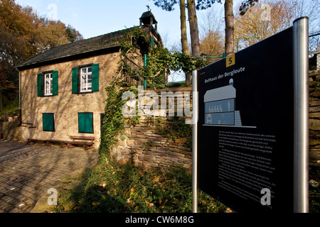 chapel of the miners in the Muttental (Mutten valley) in Bommern, Germany, North Rhine-Westphalia, Ruhr Area, Witten - Stock Photo