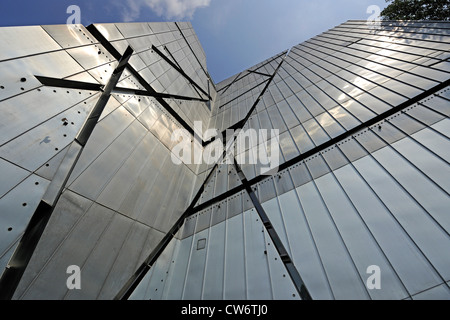 detail of Jewish Museum in Berlin, Germany, Berlin - Stock Photo