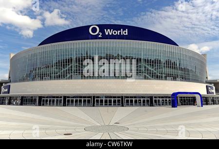 O2 arena in Berlin, Germany, Berlin, Friedrichshain - Stock Photo