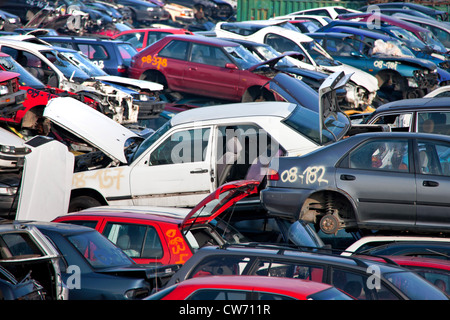 Car Wrecks - Stock Photo