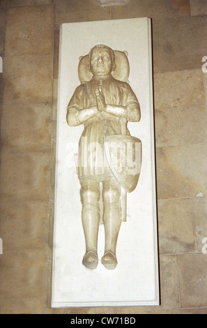 Bertrand Du Guesclin (1320-1380) - Stock Photo