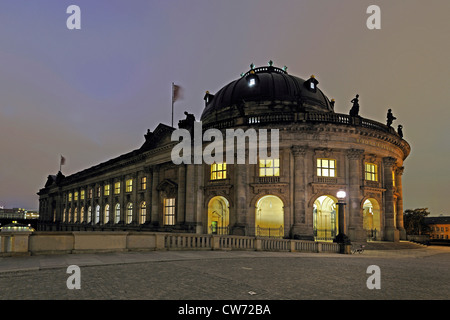 Bode Museum on Museum Island, Germany, Berlin - Stock Photo