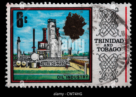 Trinidad And Tobago Postage Stamp Stock Photo 16059225