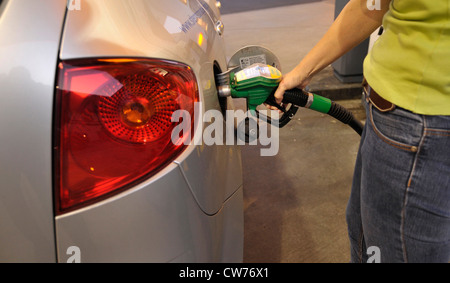 to refuel a car - Stock Photo