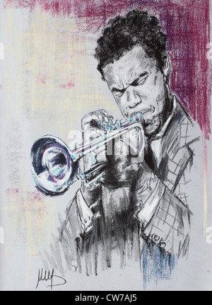 Freddie Hubbard - Stock Photo