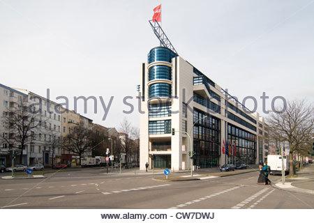 Party headquarter SPD, Germany, Berlin - Stock Photo