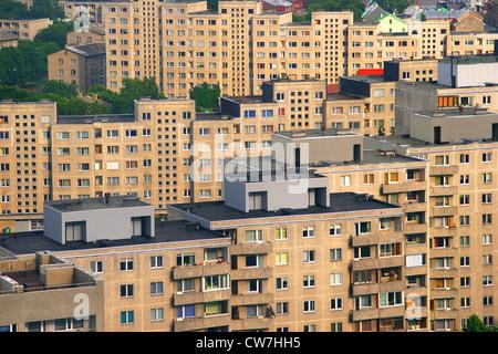 Residental Buildings in Tallinn, Estonia, Tallinn - Stock Photo