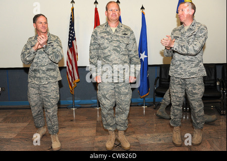 SOUTHWEST ASIA - U.S. Air Force Lt. Gen. David Goldfein, U.S. Air Forces Central Command and Combined Forces Air - Stock Photo