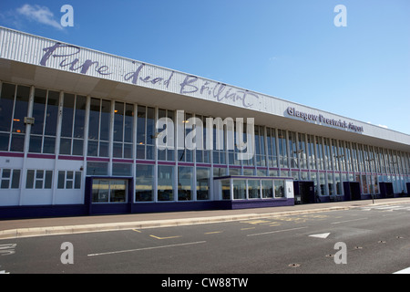 glasgow prestwick airport scotland uk united kingdom - Stock Photo