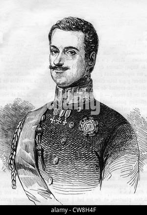 Charles Albert of Sardinia - Stock Photo