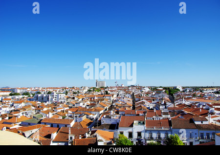 Moura, city in south of Portugal - Stock Photo