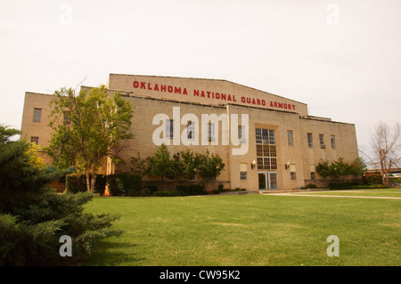 national guard armory oklahoma city ok historic attraction attractions travel association business company - Stock Photo
