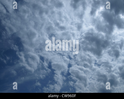 sky with clouds himmel mit wolken stock photo royalty free image 49594304 alamy. Black Bedroom Furniture Sets. Home Design Ideas