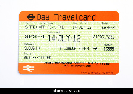 Day Travel Card London Price Off Peak