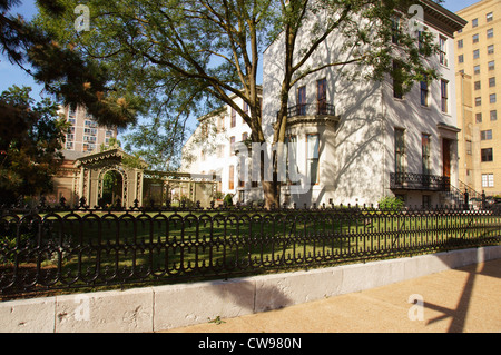 campbell house museum 15th street locust saint st louis missouri mo documented part historic american - Stock Photo
