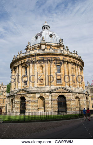 The Radcliffe Camera, Oxford, part of the Bodleian Library - Stock Photo
