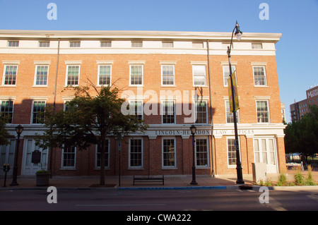 abraham lincoln herndon presidential law office springfield illinois lincoln-herndon offices state historic - Stock Photo